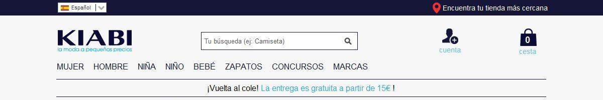 56d2293bbc7 Horarios de apertura Kiabi Las Palmas De Gran Canaria